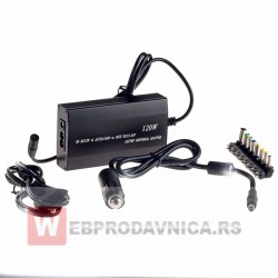 Universalni laptop adapter 120w