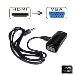 HDMI na VGA konvertor video-audio signala