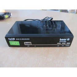 Bear DVB-T2 Digitalni HD prijemnik sa RF modulatorom