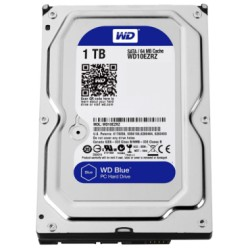 WD Blue 1TB HDD 5400 64 MB SATA3