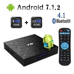 T9 PRO 64bit 4K Android smart TV BOX 4Gb