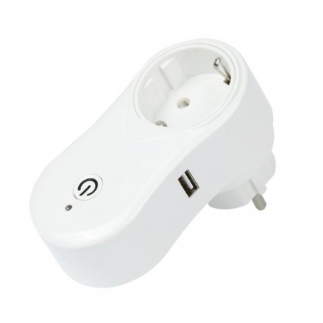 Pametna uticnica WiFi Smart socket 10A, 2000W + USB
