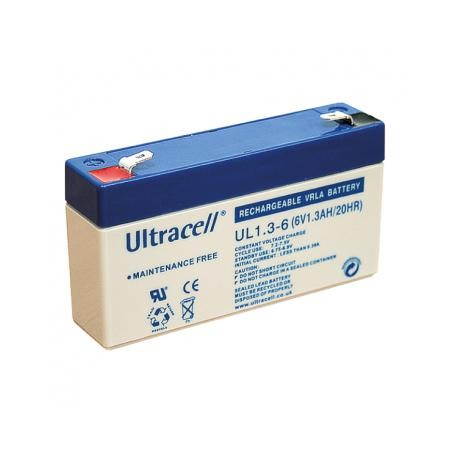 ULTRACELL Akumulator 1,3Ah/6V