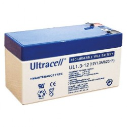 ULTRACELL Akumulator 1.3Ah/12V