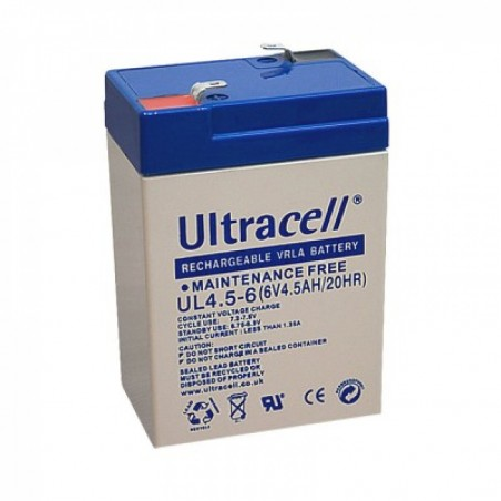 ULTRACELL Akumulator 4,5Ah/6V