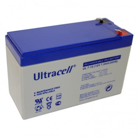ULTRACELL Akumulator 7Ah/12V