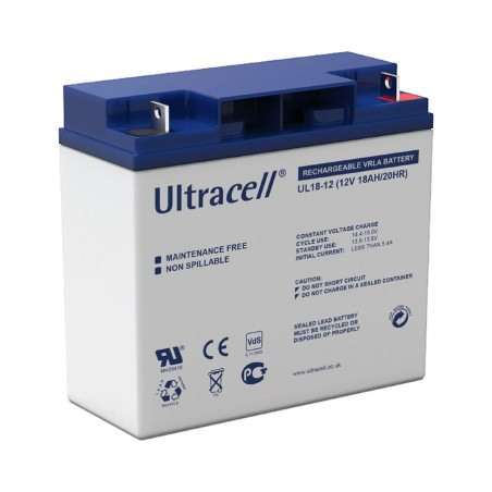 ULTRACELL Akumulator 18Ah/12V