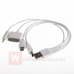 USB data kabl 4u1